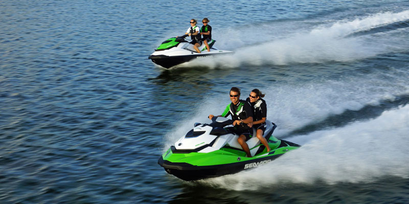 Why the sea doo is a good rental option if not interested in renting a boat